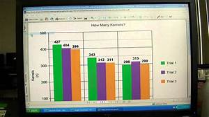 How To Graph Using Excel Science Fair A Guide To Graph Making Youtube