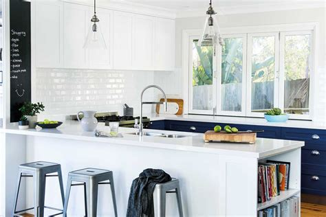 kitchens   white subway tiles home beautiful