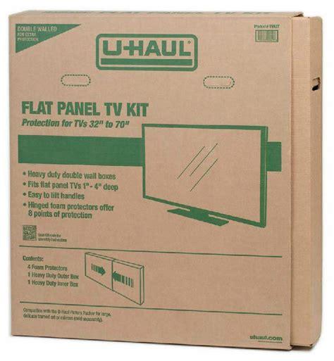 U-Haul: Flat Panel TV Kit