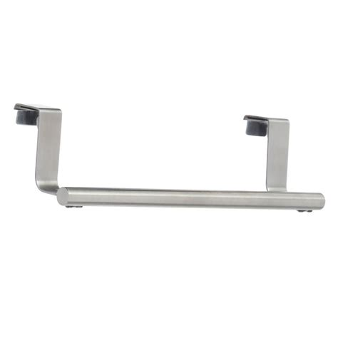 over the cabinet towel bar interdesign forma over the cabinet towel bar in brushed