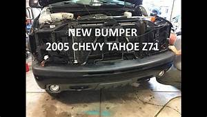 New Front Bumper Install On My 2005 Chevy Tahoe Z71
