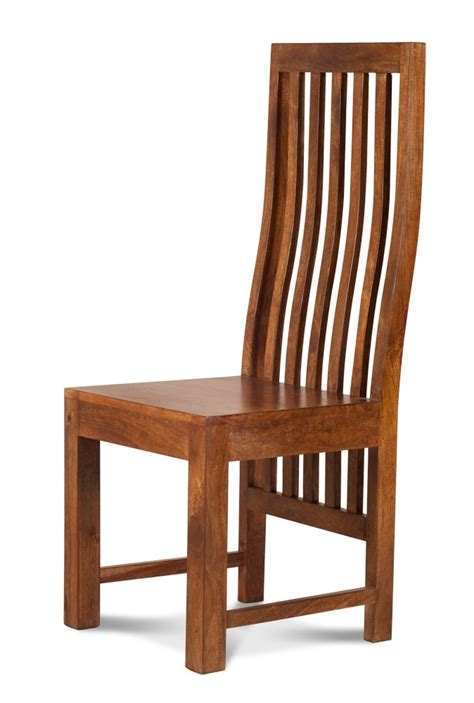 solid mango wood dining chair casa indian