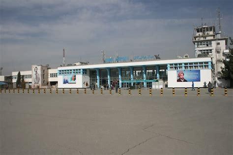 kabul international airport  departing afghanistan