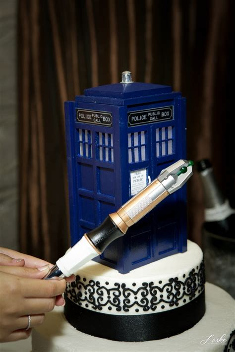 every doctor who themed wedding should have a k 9 ring bearer