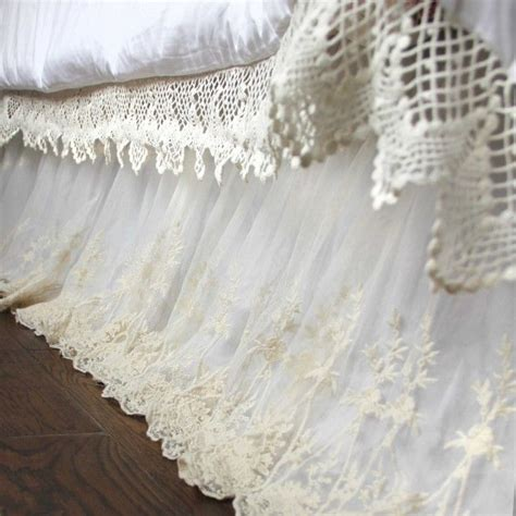 target shabby chic white dust ruffle 25 best ideas about lace bedroom on pinterest 3 room tent princess baby nurseries and girls