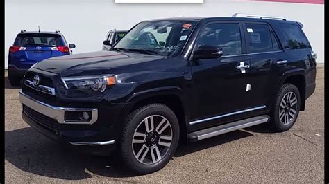 4runner Limited by 2016 Toyota 4runner Limited 7 Passenger In Midnight Black