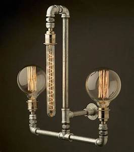 Retro Modern Lighting Fixtures with Industrial Style Vibe