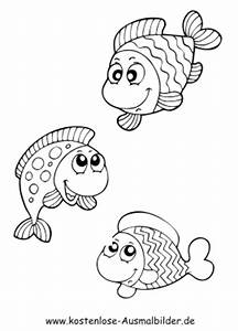Bastelvorlagen Tiere Zum Ausdrucken : ausmalbild fische 1048 malvorlage fische ausmalbilder kostenlos ausmalbild fische zum ~ Frokenaadalensverden.com Haus und Dekorationen