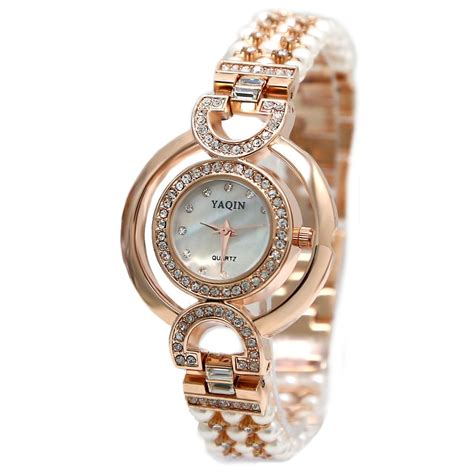 Rose Gold Tone Band White Dial Ladies Women Immited Pearl. Functional Wedding Rings. Classic Black Watches. Heart Rate Monitor Watches. Time Watches. Ladies Chains. Green Amethyst Pendant. Vine Engagement Rings. Armor Watches