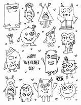 Coloring Valentines Pages Valentine Printable Eye Sheets Patches Happy Colouring Monsters Eyepowerkidswear Worksheets Adult Funny Save sketch template