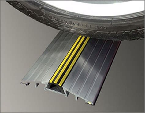 25mm Commercial Garage Door Threshold Seal Aluminium
