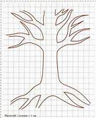 дерево семьи рисунок карандашом