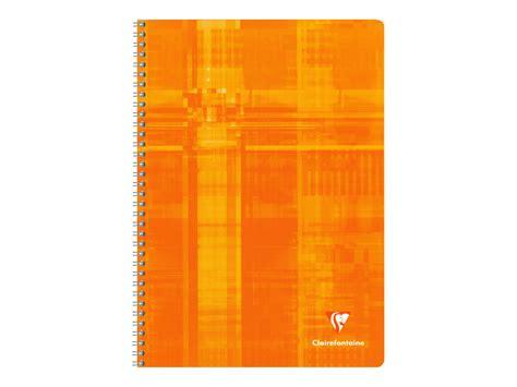 grand bureau informatique clairefontaine cahier spirale a4 100 pages grands