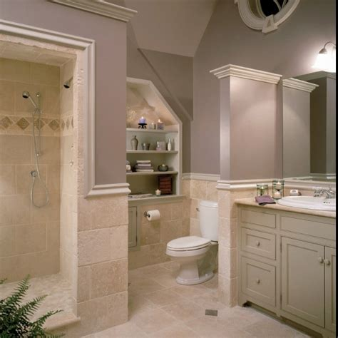 lovin the grays and taupes travertine tile from houzz