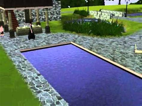 The Sims 3 Disappearing in Swimming Pool YouTube