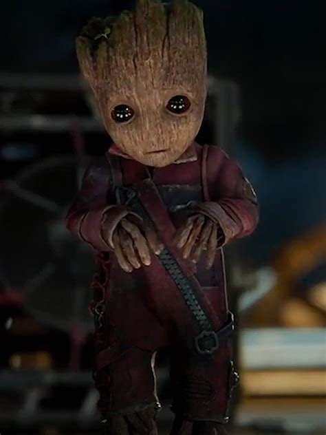 Baby Groot Jacket From Guardians Of The Galaxy Vol 2