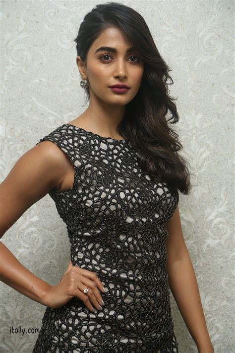 Pin by kumar on Pooja Hegde | Dresses, Black dress ...