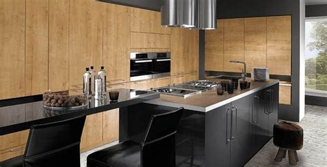 cuisine mi bois cuisine intégrée sur mesure cuisine interieur design toulouse