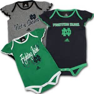 Of Notre Dame Baby Notre Dame Baby Suits 3 Pack