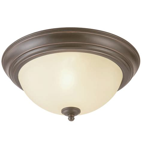 hton bay interior exterior ceiling light rubbed
