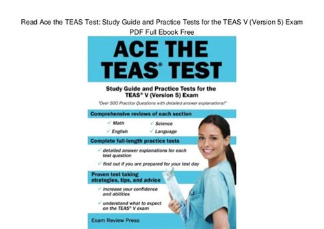 Read Ace The Teas Test Study Guide And Practice Tests For The Teas V…