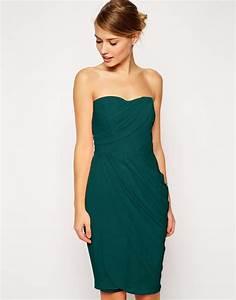 asos robe drapee mi longue effet transparent asos With robe longue drapée