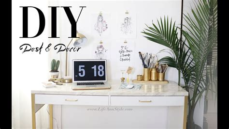 Desk Decoration by 5 Easy Diy Desk Decor Organization Ikea Hacks Le