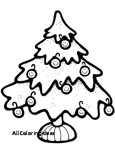 xmas tree coloring pages    clipartmag