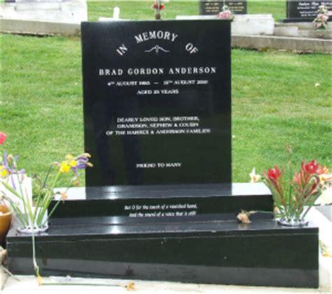 headstones memorials crombie monumentalists oamaru