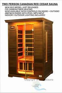 2 Mann Sauna : 2 person sauna red cedar far infrared 7 carbon heaters 1 ~ Lizthompson.info Haus und Dekorationen