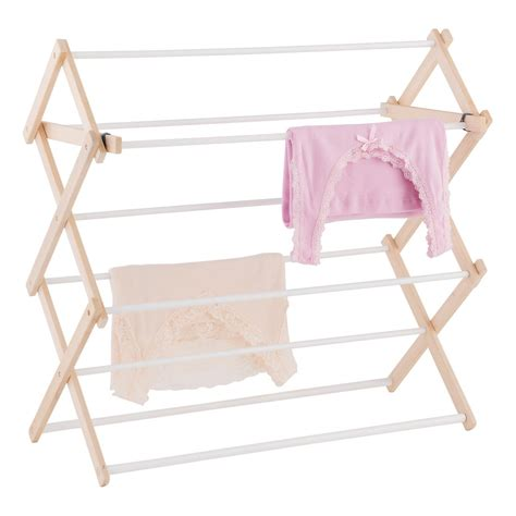 wooden clothes rack 9 dowel wooden wall mounted floor clothes drying rack