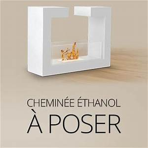 Cheminée Bio Ethanol A Poser Au Sol : chemin e bio l 39 thanol chauffage design ~ Edinachiropracticcenter.com Idées de Décoration