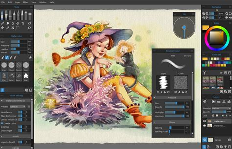 paint color mixing software rebelle real media paint software
