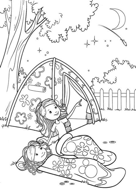 girl scout camping coloring pages groovy girls camp coloring pages girl scouts girl scout
