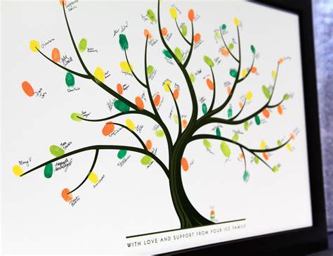 fingerprint tree inspired  pinterest  friends