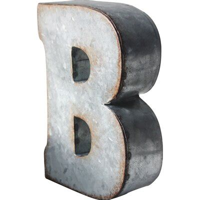 letter block decorative objects youll love   wayfair