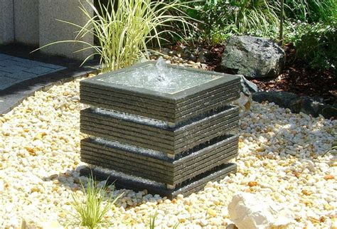 contemporary outdoor water fountains images