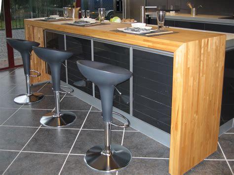cuisine plan de travail en bois cuisine plan de travail bois massif sur mesure épaisflip