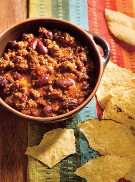 ricardo cuisine mijoteuse chili classique au boeuf ricardo