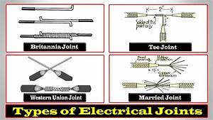 Electrical Joints - Types Of Electrical Joints