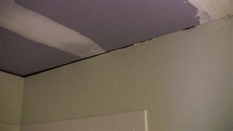 crown moulding  bathroom ceilingwall joint