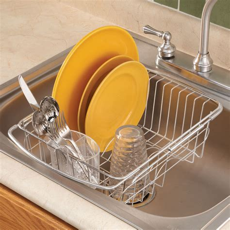 dish rack that fits in sink over the sink dish drainer rack over sink dish rack