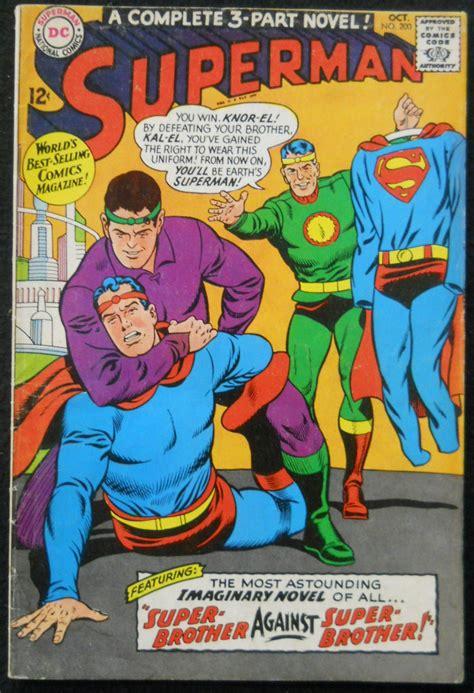 superman  vg silver age comics