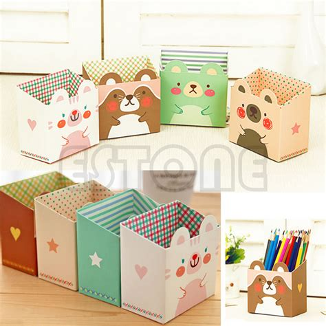 organizer baby bag v cool diy paper stationary makeup cosmetic desk organizer