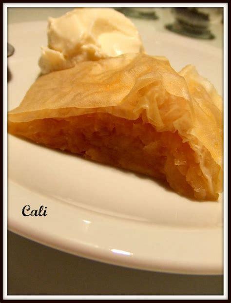 recette de cuisine juive strudel aux pommes recettes de cuisine juive