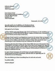 Bewerbung Zur Ausbildung : bewerbungsschreiben ausbildung karriereletter ~ Eleganceandgraceweddings.com Haus und Dekorationen