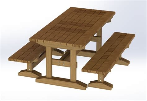 free picnic table plans picnic table plans free separate benches quick