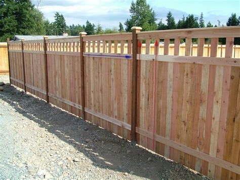 wood fence construction advice doityourselfcom community forums