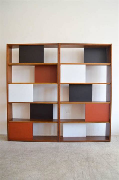 Hinged Bookcase by Room Divider Or Hinged Bookcase By Clark For Glenn