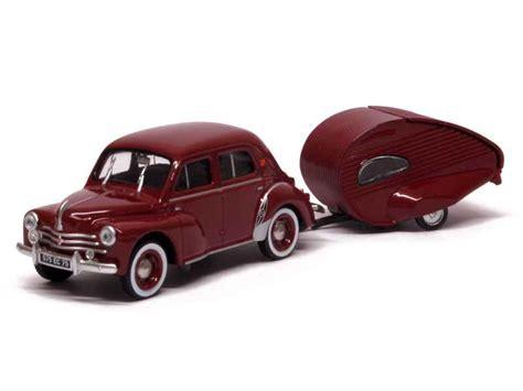 Renault - 4CV Caravane Ailette - Eligor Autos - 1/43 ...
